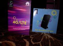 راوتر زين 3G . 4G و فلاشة 3G للبيع