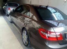 Mercedes Benz E 200 2011 For sale - Brown color