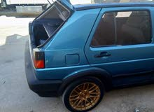 For sale 1987 Turquoise Golf