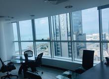 مكاتب تجاريه مؤثثه   Furnished Office