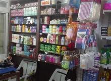 محل منظفات للبيع في دوار النزهة شارع القصور