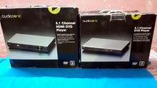 4 اجهزة DVD جديدة بالباكيت بيهم جهازين HD ويشغلن فلاش رام مع ملحقاتهم