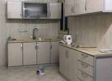 مطبخ المنيوم 3 امتار مع الرخام جاهز للبيع