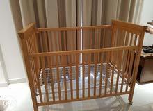 Toddler crib for sale_سرير اطفال للبيع