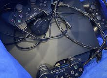 PS3 jailbreaked with 40 Games + 3 Controllers