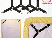 Bedsheet Fastener 4 Set Clips