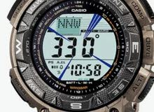 titanium Tough Solar Watch ساعه تيتانيوم رياضيه شحن طاقه شمسيه بها بوصله وتحديد