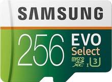 ميموري كارد سامسونج مايكرو إس دي Micro SD اصليه 256 جيجا