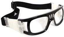 نظارة حماية للرياضة مع امكانية تركيب عدسات طبية ممتاز جدا