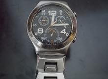 استخدام بسيط بحالة ممتازة جدا ساعة معروفة من المقتنايات الراقية صناعة سويسري ستا