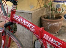 camel cycle for sale used few times foldable