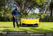 Lamborghini Huracan Spyder 2019 For Rent in Dubai