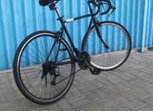 دراجة على الطريق
