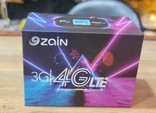 راوتر زين 4G رصيد انترنت مفتوح 100G