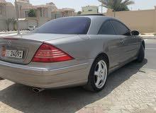 Mercedes cl500 Model 2003