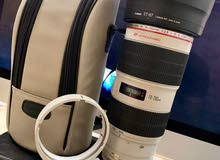 Canon EF 70-200mm f/2.8L IS II USM Telephoto Zoom...كانون لينز