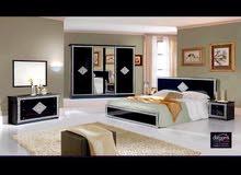 غرف نوم إيطالية ( لونا )  تخفيض بي سعر 1650 دينار