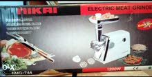 nikai electric meat grinder