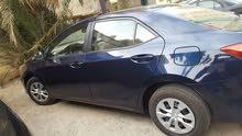 Corolla 2014 1.6 Xli Dark Blue for sale