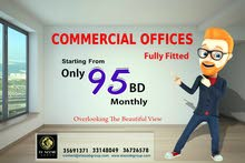 95 BD monthly ! Commercial office in Adliya, try to rent now, عرض المك