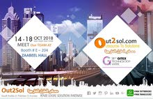 GITEX 2018 - Out2Sol E-204 Zabeel HALL