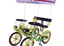 فرصة استثمارية لأصحاب المنتزهات سيكل اربع عجلات