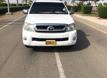 2010 Used Hilux with Manual transmission is available for sale