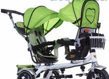 دراجة اطفال مميزة لتوأم جملة لأصحاب الاعمال
