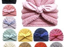 قبعات جميلة للاطفال ( توربان )