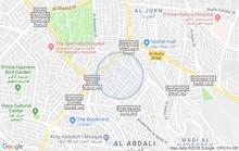 Third Floor  apartment for rent with Studio rooms - Amman city Jabal Al Hussain