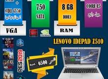 LENOVO Z510 CORE I5 ,Ram8G+H.d750ب2 كارت شاشه . العاب 2019 و 2018
