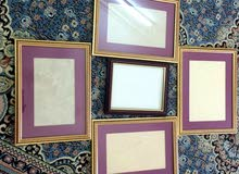 For sale Used Paintings - Frames with special specs and additions