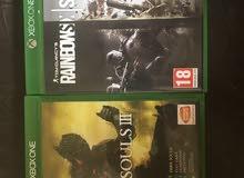 العاب Xbox one للبيع او البدل