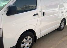 Toyota Hiace 2010 for rent per Monthly