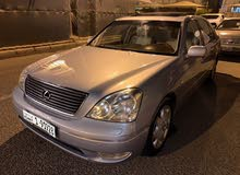 Used condition Lexus LS 2002 with +200,000 km mileage