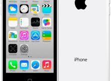 جوال ايفون 5سي 16 قيقا مجدد مع السماعة والشاحن والكابل (I phone 5C )