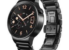 ساعة هواوي الذكية بهيكل وسوار ستانليس ستيل – أسود