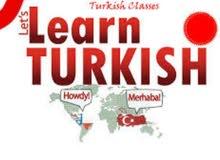 تعليم اللغة التركية (مدرس خاص)
