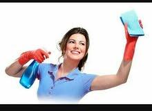 يوجد عاملات نظافة وخدمات الضيافة ومراعاة كبار السن بارقى التعامل