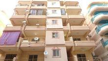شقة 105 متر / ثالث عمارة من الشارع الرئيسى (شارع 6)
