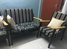 full metal furniture in good condition n newly made cushions