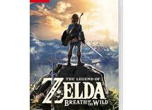 Legend of zeld Breath of the Wild- Nintendo Switch
