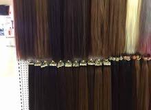 شعر طبيعي 100٪