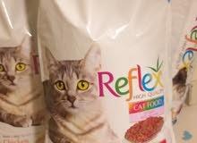 طعام مخصص للقطط 15 كيلو رفلكس