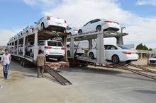 وصول أكبر تشكيلة سيارات في المنطقة الحرة في الاردن للتصدير