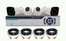 منظومة كاميرات مراقبة كاملة من شركة Winposs