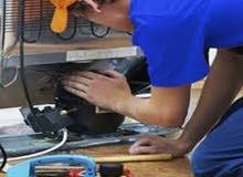 صيانة جميع أنواع ثلاجات وغسالات ومكيفات وكل مايخص المنزل