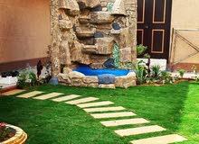 تنسيق حدائق وتصميم