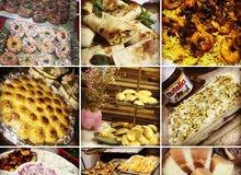 مأكولات زنود الست لتجهيز كافه أنواع الأكلات و المعجنات والحلويات