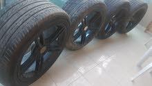 Set of 4 rims& tires